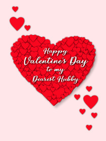 Happy Valentine's Day to My Dearest Hubby