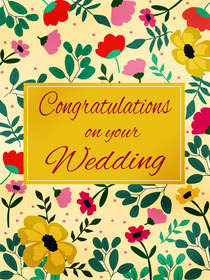 Congratulations on Your Wedding