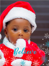 Believe - Christmas Photocard