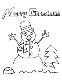 christmas coloring card christmas coloring card