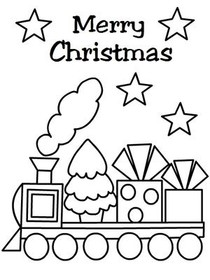 christmas coloring card 2 christmas coloring card 3