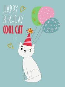 Happy Birthday Cool Cat
