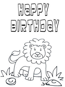 Free Printable Color Your Card Birthday Cards Create And Print