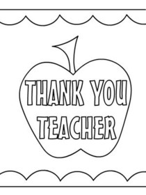 graphic regarding Thank You Teacher Free Printable called Totally free Printable Trainer Appreciation Playing cards, Deliver and Print