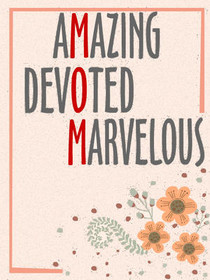 Amazing Devoted Marvelous