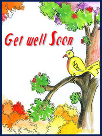 Get Well Soon Bird