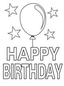 Happy birthday printouts robertottni happy birthday printouts bookmarktalkfo Image collections