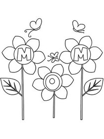 Free Printable Mothers Day Coloring Cards Cards Create and Print