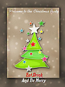 Welcome to the Christmas Party - Eat Drink and Be Merry