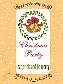 Christmas Party - Eat, Drink and Be Merry