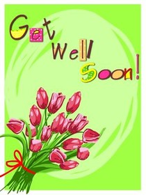 graphic regarding Free Printable Get Well Soon Cards identified as Most current Purchase Very well Shortly Card Visuals - Naturesimagesart