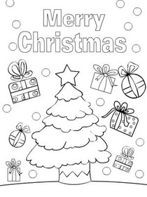 christmas color your card 7 merry christmas merry christmas christmas coloring card