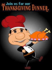 Join Us for Our Thanksgiving Dinner