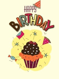 free printable cards, create and print free printable cards at home, Birthday card