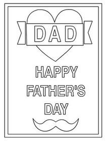 graphic about Father's Day Printable identified as Totally free Printable Fathers Working day Playing cards, Make and Print No cost
