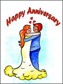 image regarding Free Printable Anniversary Cards for My Husband identify Absolutely free Printable Anniversary Playing cards, Crank out and Print Cost-free