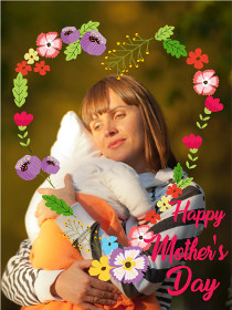 Mother's Day Photocard