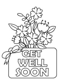 image relating to Printable Get Well Cards known as Absolutely free Printable Order Nicely Quickly Playing cards, Establish and Print Cost-free