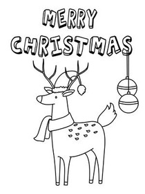 photo relating to Printable Christmas Cards Black and White named No cost Printable Xmas Coloring Playing cards Playing cards, Deliver and